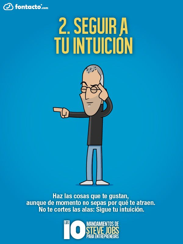 2) Seguir a tu intuición