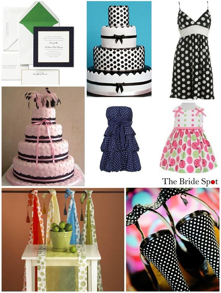 """The titile is """"polka dot wedding"""" :D"""