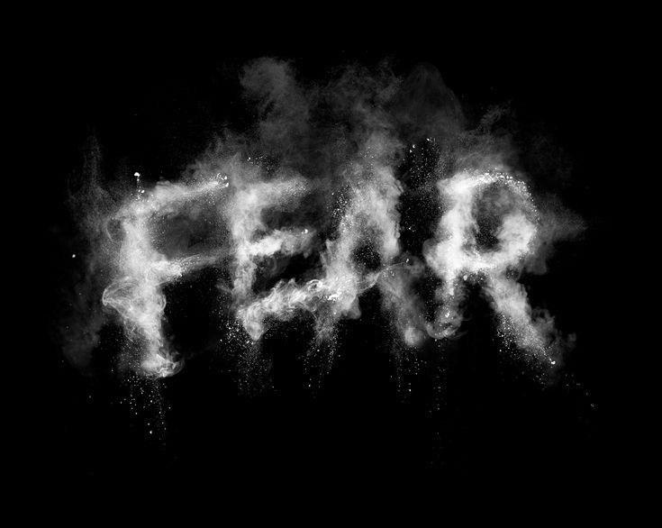 Fear typography in chalk dust: Design Inspiration, Typography Design, Graphics Design, Craig Ward, Leo Burnett, Fear Typography, Secret Deodorant, Chalkdust, Chalk Dust