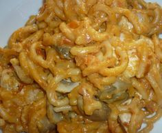 Rezept Variation von All-In-One Hähnchenbrust und Nudeln in einer Schinken-Champignon-Weißwein-Tomatenrahmsauce von fische63 - Rezept der Kategorie Hauptgerichte mit Fleisch