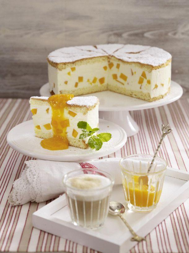 Unser beliebtes Rezept für Mango-Käsesahne-Torte und mehr als 55.000 weitere kostenlose Rezepte auf LECKER.de.