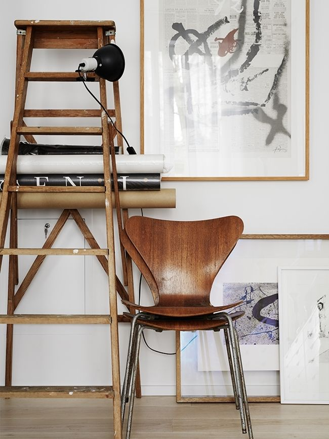 Series 7 chair by Arne Jacobsen from Fritz Hansen | La Maison d'Anna G.: The converted cinema