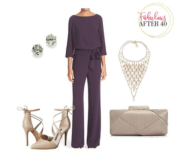 Try a jumpsuit for a holiday party this year   Fabulous After 40