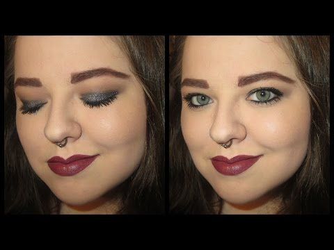 My Glittery Obsessions: Tutorial || Glittery New Year's Eve Party Makeup || All Drugstore Products