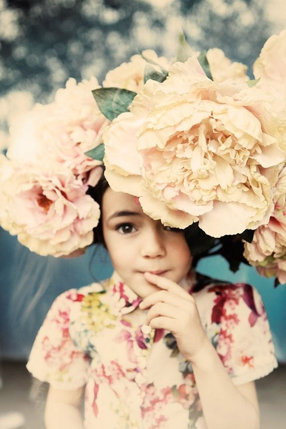 (by Esperanza Moya): Inspiration, Kids, Flowers, Flower Girls, Hair, Flowergirl, Photo, Floral