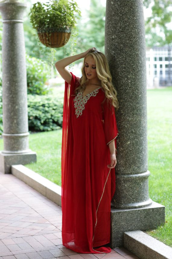 "Yara Yosif ""Rania"" Kaftan dress"