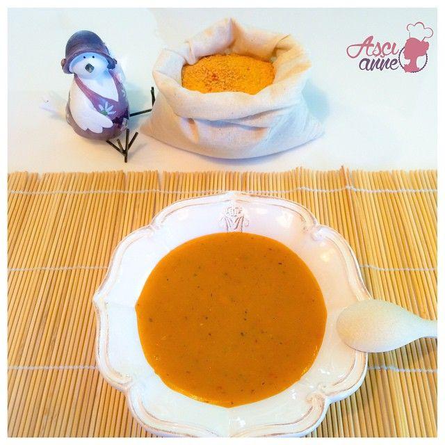 Havuçlu Tarhana Çorbası (+12 ay)