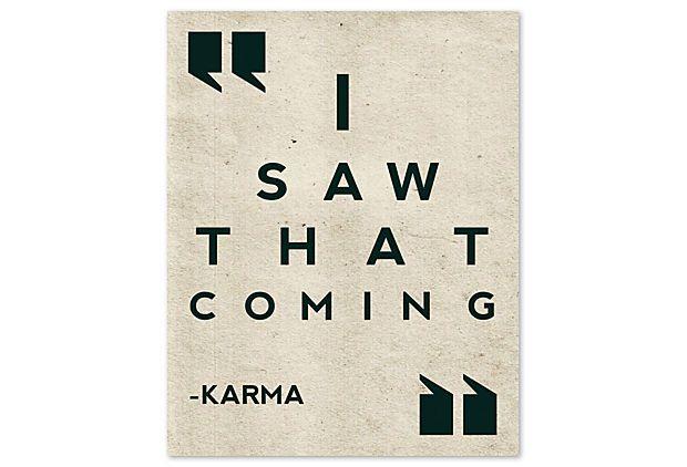 Karma on OneKingsLane.com