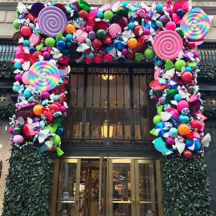 "SAKS FIFTH AVENUE, New York, ""We elves try to stick to the four main food groups: candy, candy canes, candy corns, and syrup."", (Buddy The Elf), pinned by Ton van der Veer"