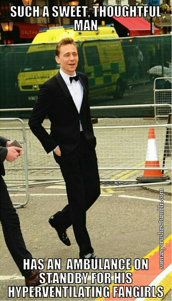 ~ Dear followers Loki has his own board so this is just Hiddles! Thanks for following! Hiddles on! ~~ Heather S :)