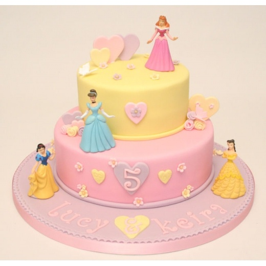 Goldilocks Disney Princess Cake