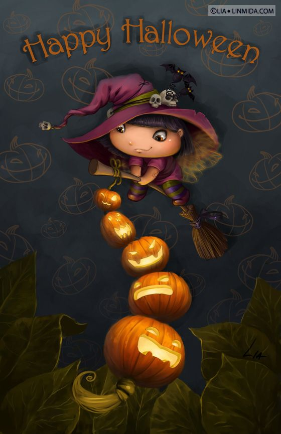 Halloween fairy by LiaSelina.deviantart.com on @deviantART ...