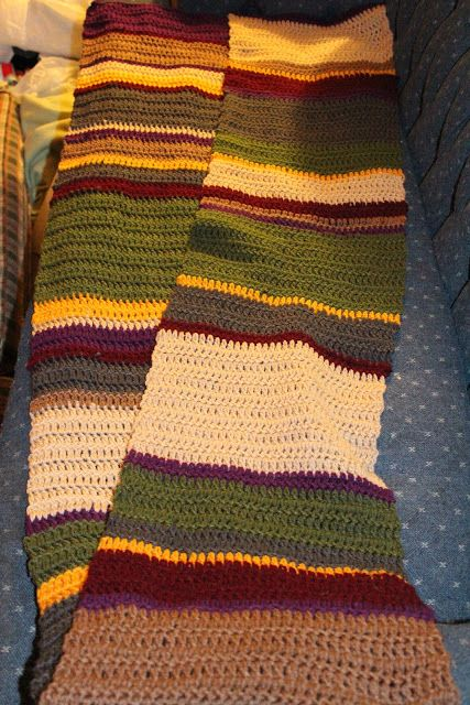 Stormfly Crafts Doctor Who Fourth Doctor S Scarf