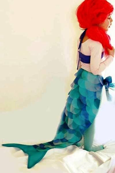 Picture only, no instructions. Mermaid Costume