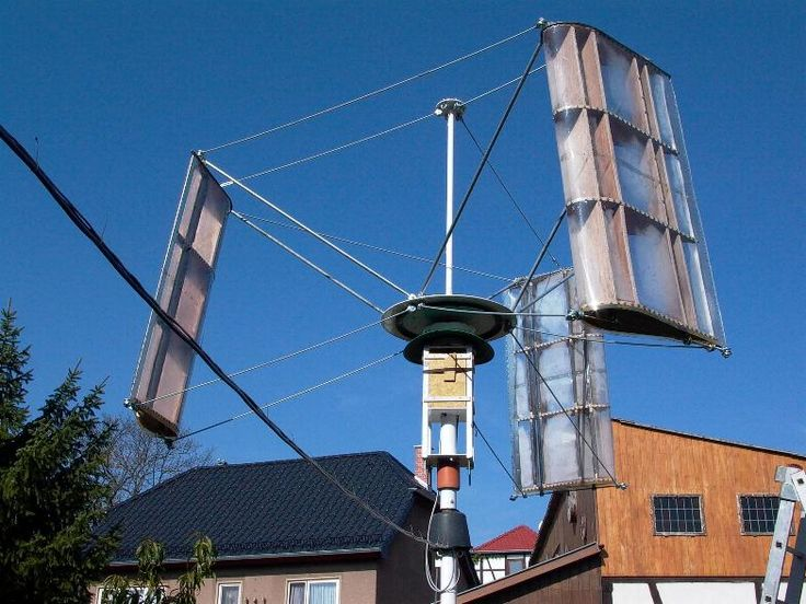 Selbstbau H-Rotor • www.kleinwindanlagen.de