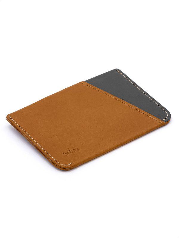 Caramel leather credit card holder Bellroy