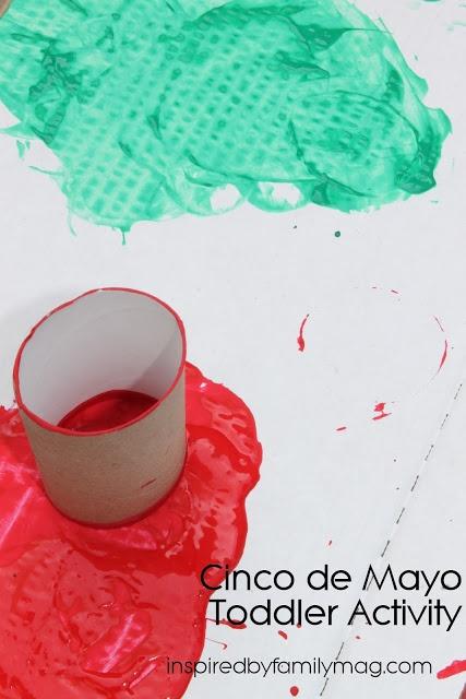 Cinco De Mayo Toddler Activity: Mexican Flag