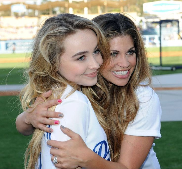 sabrina carpenter | Danielle Fishel, Sabrina Carpenter and Rowan Blanchard – Dodgers ...