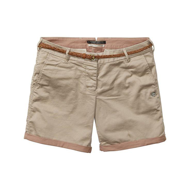 Loose Fit Shorts Dames Blauw Selected jCzji