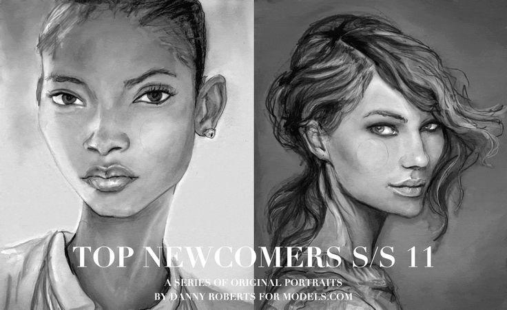 Renderings of models at Igor + Andre
