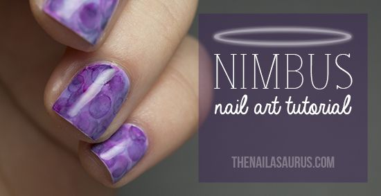 The Nailasaurus   UK Nail Art Blog: Nimbus Nail Art Tutorial