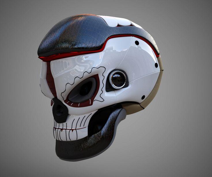 TechMex Skull (01) | by matt_0ne