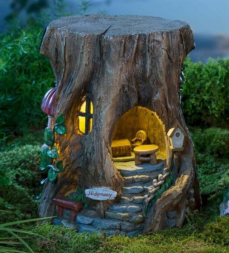 25 Amazing Magical Fairy Garden Craft and Ideas