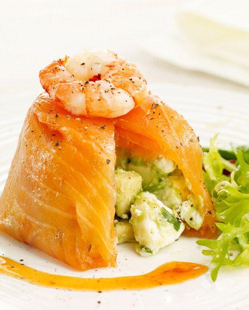 WOW: Avocado Terrin, Amazing Recipes, Salmon Avocado, Smoke Salmon, Tasti Recipes, Healthy Recipes, Delicious Recipes