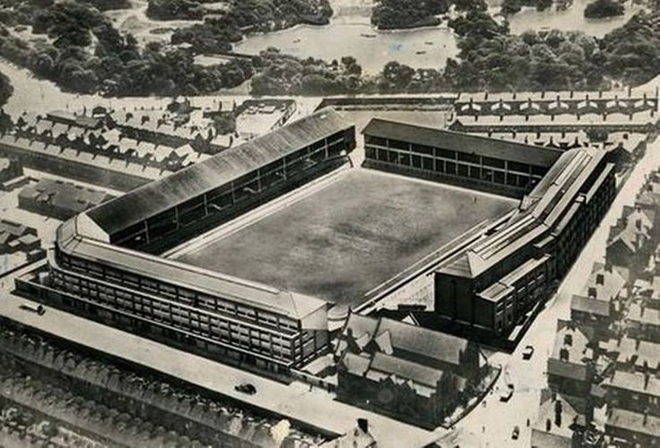 Goodison Park in 1938, Liverpool, Everton FC