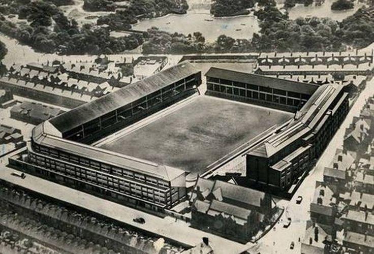Goodison Park in 1938, Liverpool, Everton FC