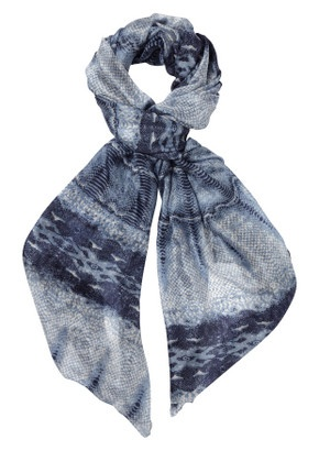 Have one in Turquoise and Black ... why not get another ? LOVE Lily and Lionel silk scarves !