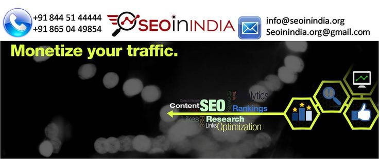 We have a dedicated team of 20+ professional designers, developers and SEO specialists. We also provide Full time resources for our Clients.If you are interested in our services please share your complete requirement with us so that we can provide you more information and solutions accordingly. http://seoinindia.org/about-seo-in-india-organization.html