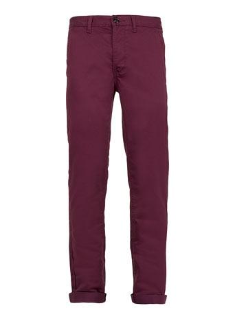 Grape Skinny Chinos - Mens Chinos   - Clothing