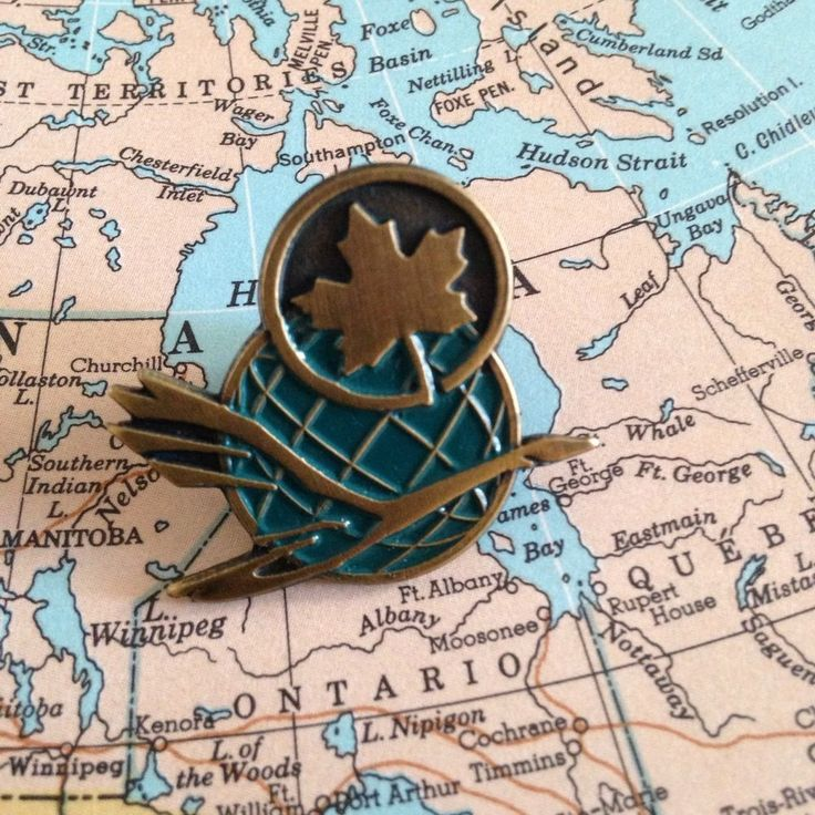 Air Canada Canadian Airlines Symbols Merger Lapel Pin Goose Globe Maple Leaf