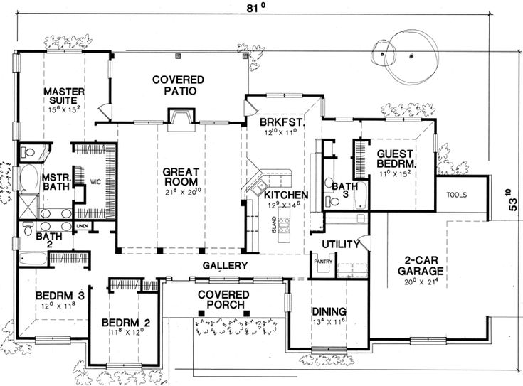 47 Best House Plans Images On Pinterest Country Houses