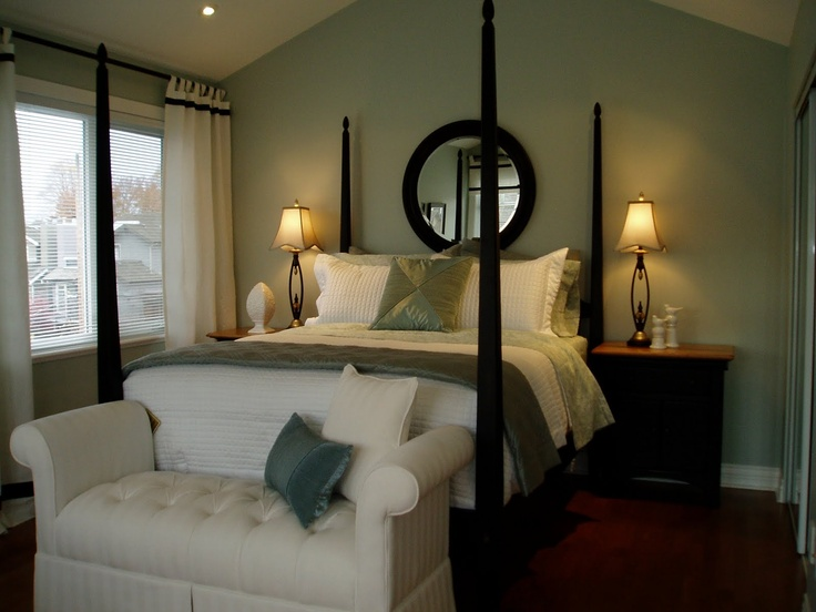 Small Master Bedroom Accent Wall