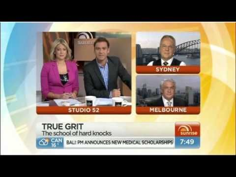 Dr Michael Carr-Gregg and Dr Tim Hawkes on Weekend Sunrise talking Resilience