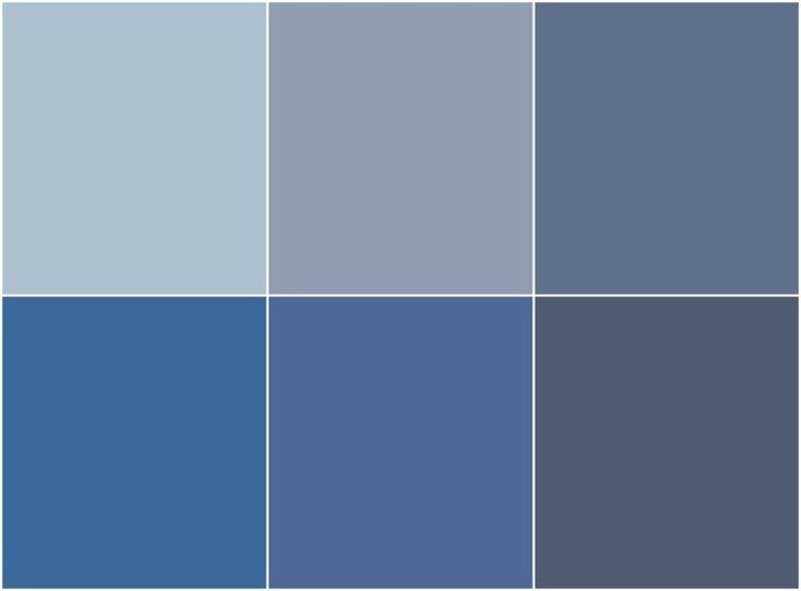 nuances de peinture bleu gris tendance utiliser dans la chambre le salon ou la - Peinture Gris Bleu Pour Chambre