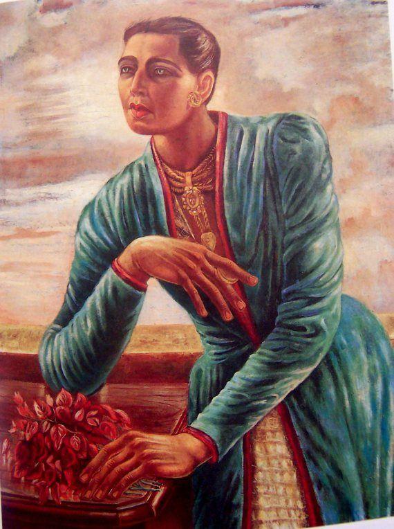 Retrato de Lupe Marín 1945.