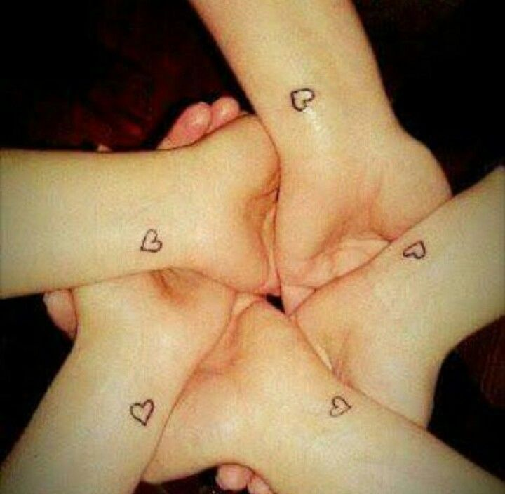 The 25+ best Squad tattoos best friends ideas on Pinterest | Best ...