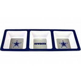 Add snacks in the cowboys snack tray./ Wally's Party Factory #dallas #cowboys #snack #tray