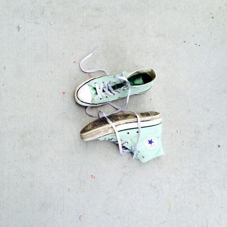 Mint Converse —