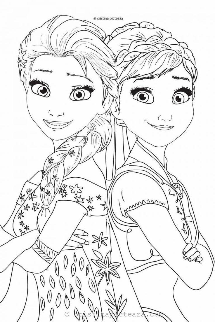 Frozen 2 Coloring Pages nel 2020 Disegni dei personaggi