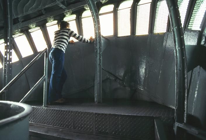 NYC. Inside Lady Liberty's Crown