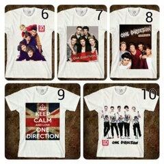 "[KODE: T-1D 02] T-Shirt ""One Direction"" || Size: S-XXL || Rp 75.000 (design sendiri +10rb)"