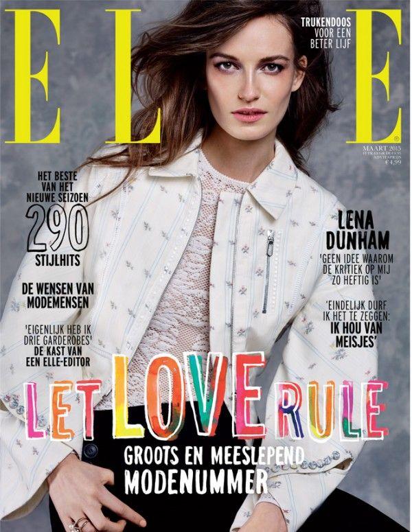 'Let Love Rule' handtype ELLE magazine! www.milouneelen.com