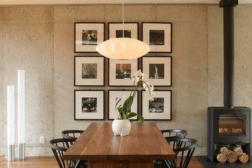 Edina 5 - contemporary - Dining Room - Minneapolis - Elevation - I like this display of photos