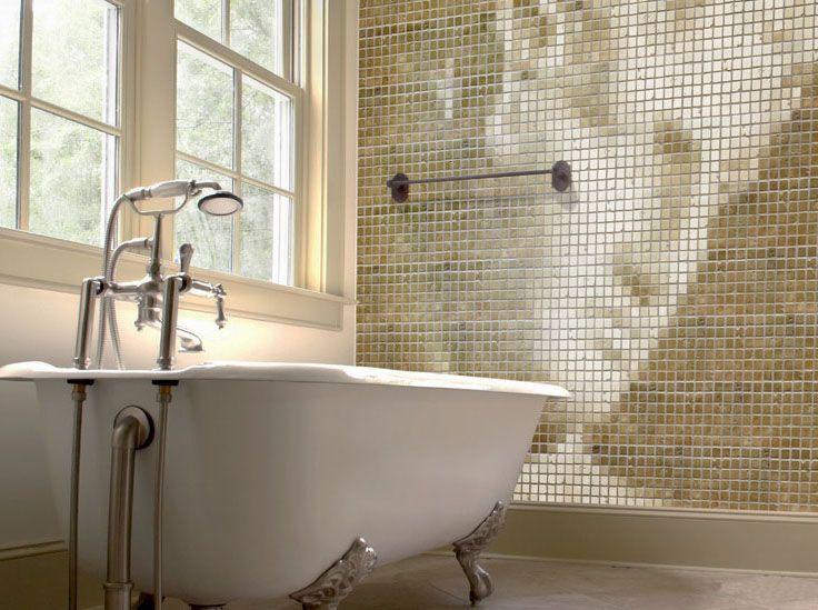 Mosaic Caesar Wall Mural For The Bathroom