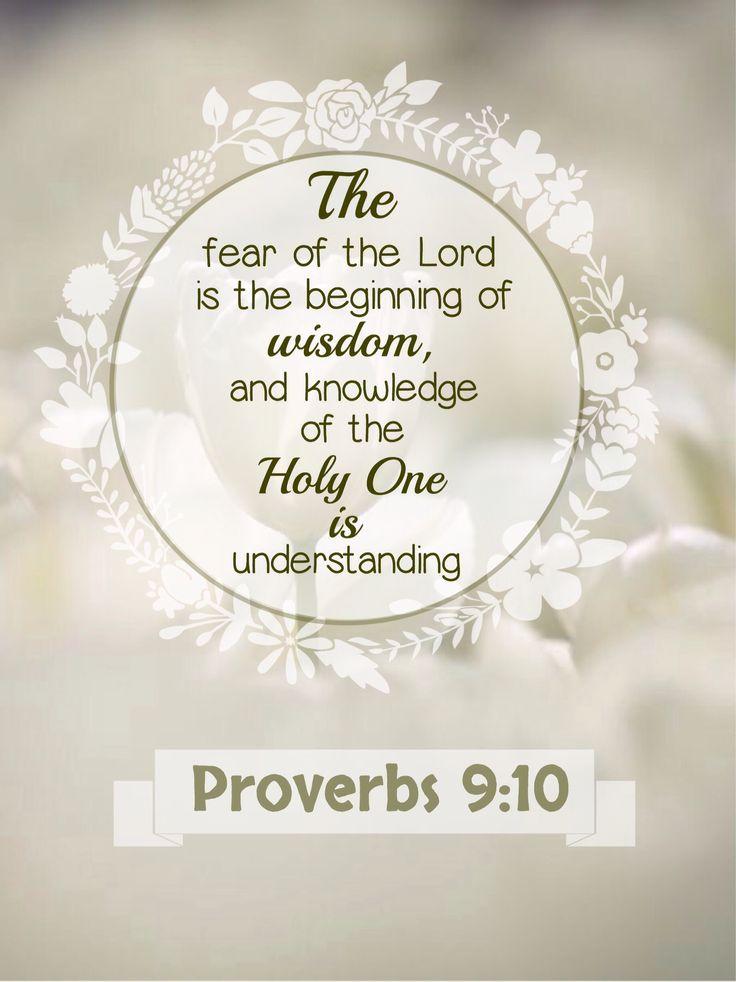 Proverbios 9:10 El temor de Jehová es el principio de la sabiduría, y el conocimiento del Santísimo es la inteligencia. ♔