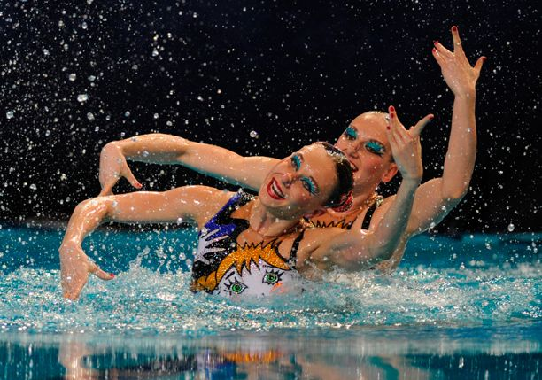 Quirky Waterproof Makeup used by the U.S. Synchronized Swim Team